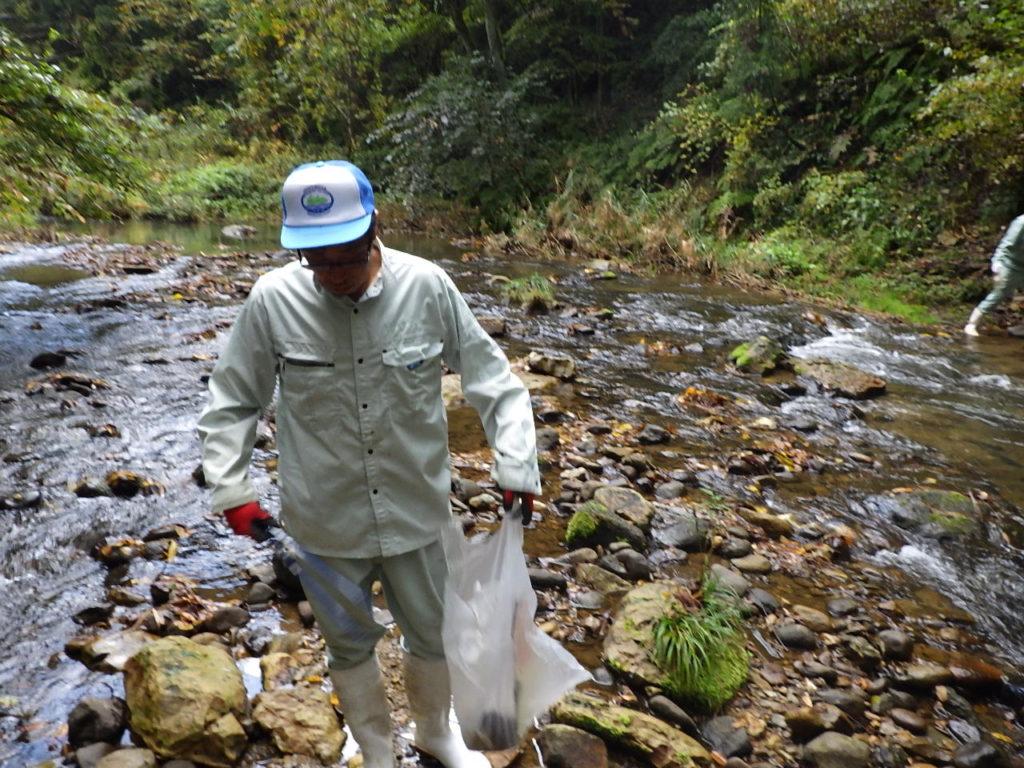H30.10.29 第2回ふるさとの川愛護活動の様子